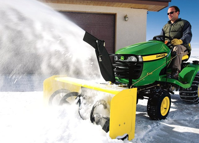 John Deere 44 Inch Snow Blower Select Series Snow