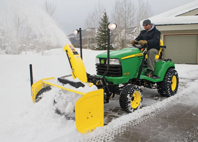 John Deere 47 Inch Quick Hitch Snow Blower Snow Removal