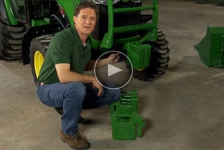 Follow link to watch video about utilizing tractor implements.