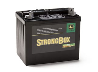 Follow the link to learn more about batteries from John Deere