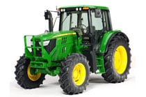 Image of a John Deere 6125M Utility Tractor