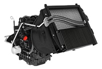 Studio image of a wide area mower Air Intake System