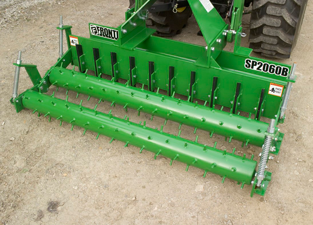 Tractor Implements And Attachments : Landscape equipment ∣ sp series soil pulverizers john