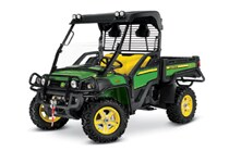 Green and Yellow Gator Crossover Utility Vehicle XUV855D