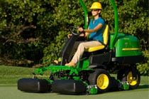 Riding Greens Mowers