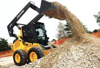 View the 300 Skid Steer Loaders from Deere