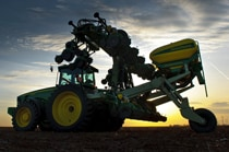 16Row40 Custom-Built Integral Planter