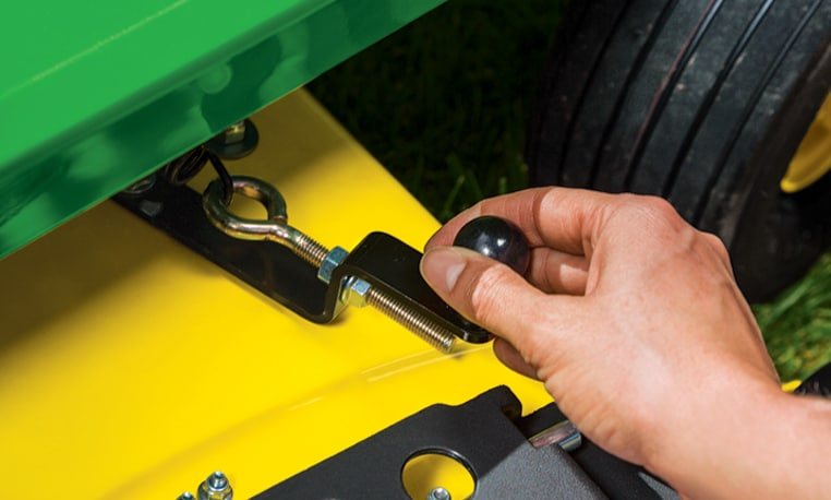 View 15% off select riding mower attachments offer