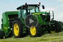 Video of Round Baler in action