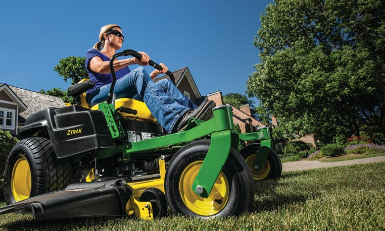View Residential ZTrak™ Mowers