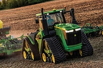 Studio image of 9620RX tractor