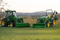 Link to Compact Utility Tractors page