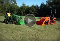 John Deere 1 Family vs Kubota link to video