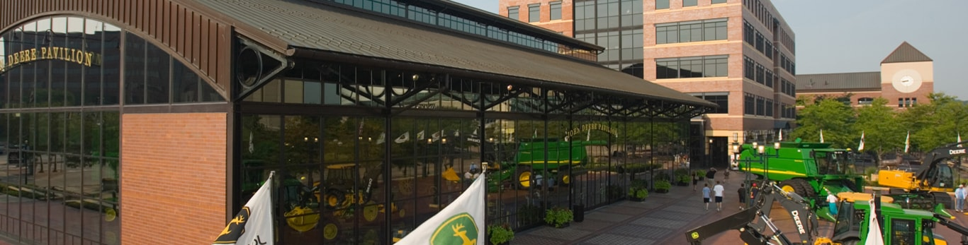 The John Deere Pavilion in downtown Moline, IL