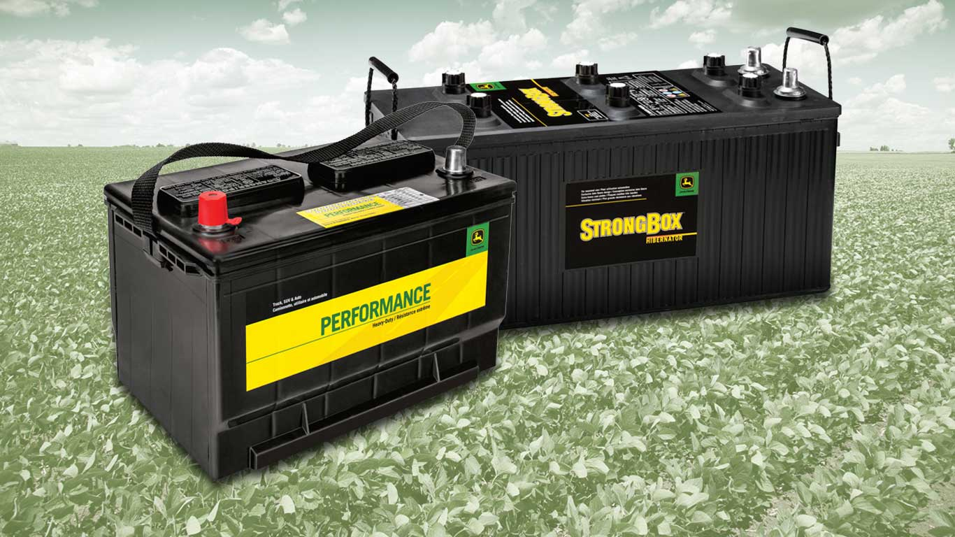 Batteries Performance pour service standard et batteries StrongBox pour service intensif