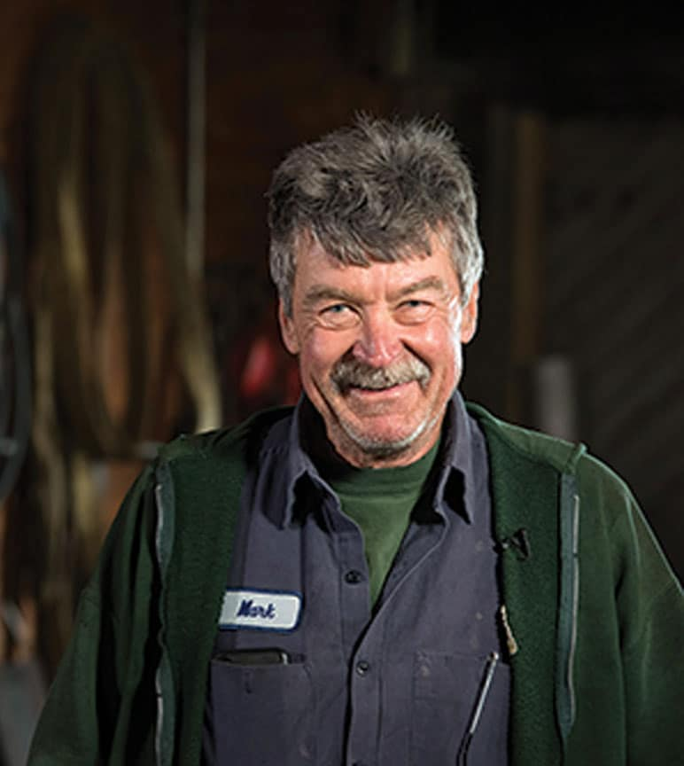 Mark Milbourne, a John Deere marine dealer.