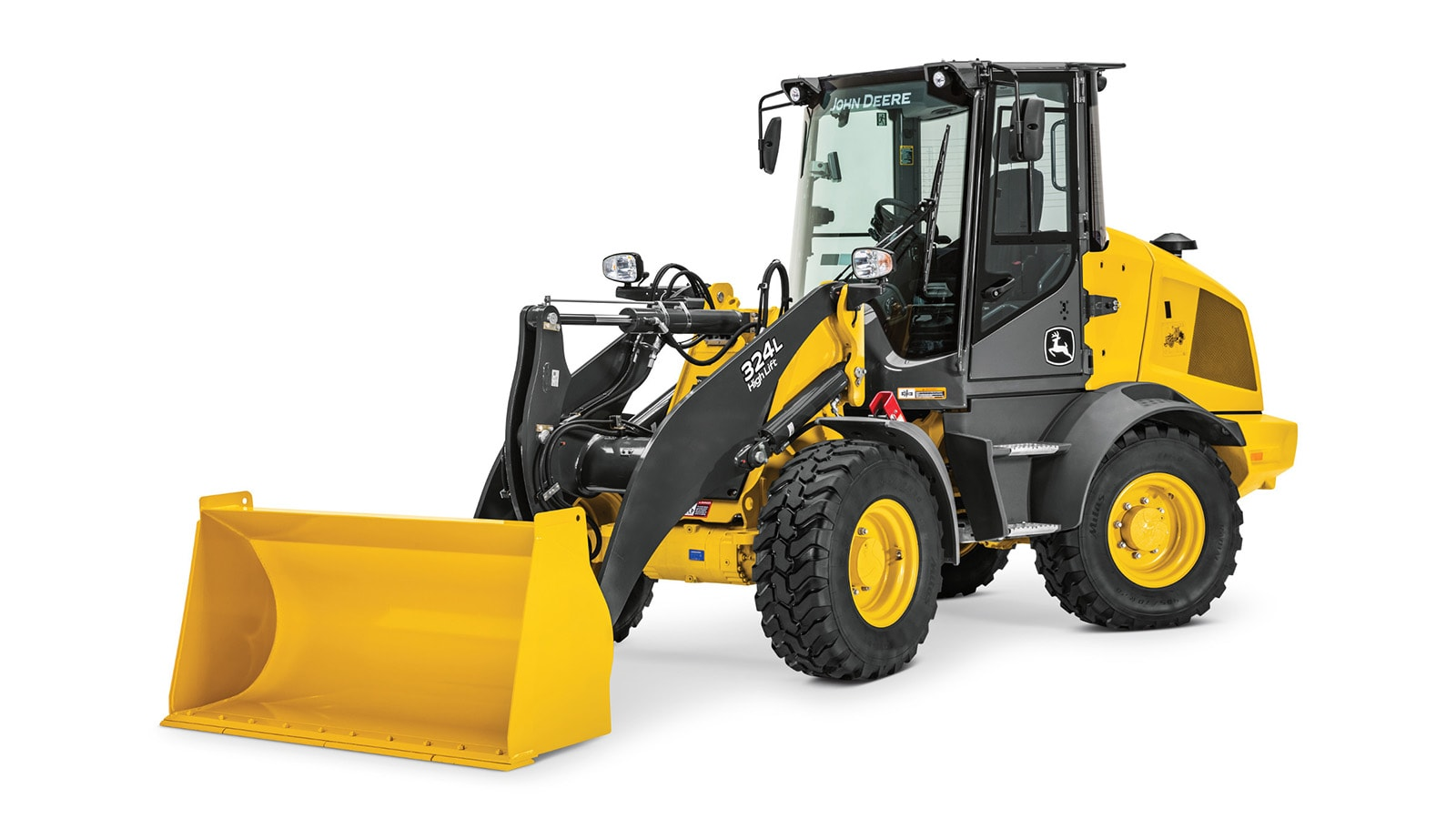 324L and 244L compact wheel loaders