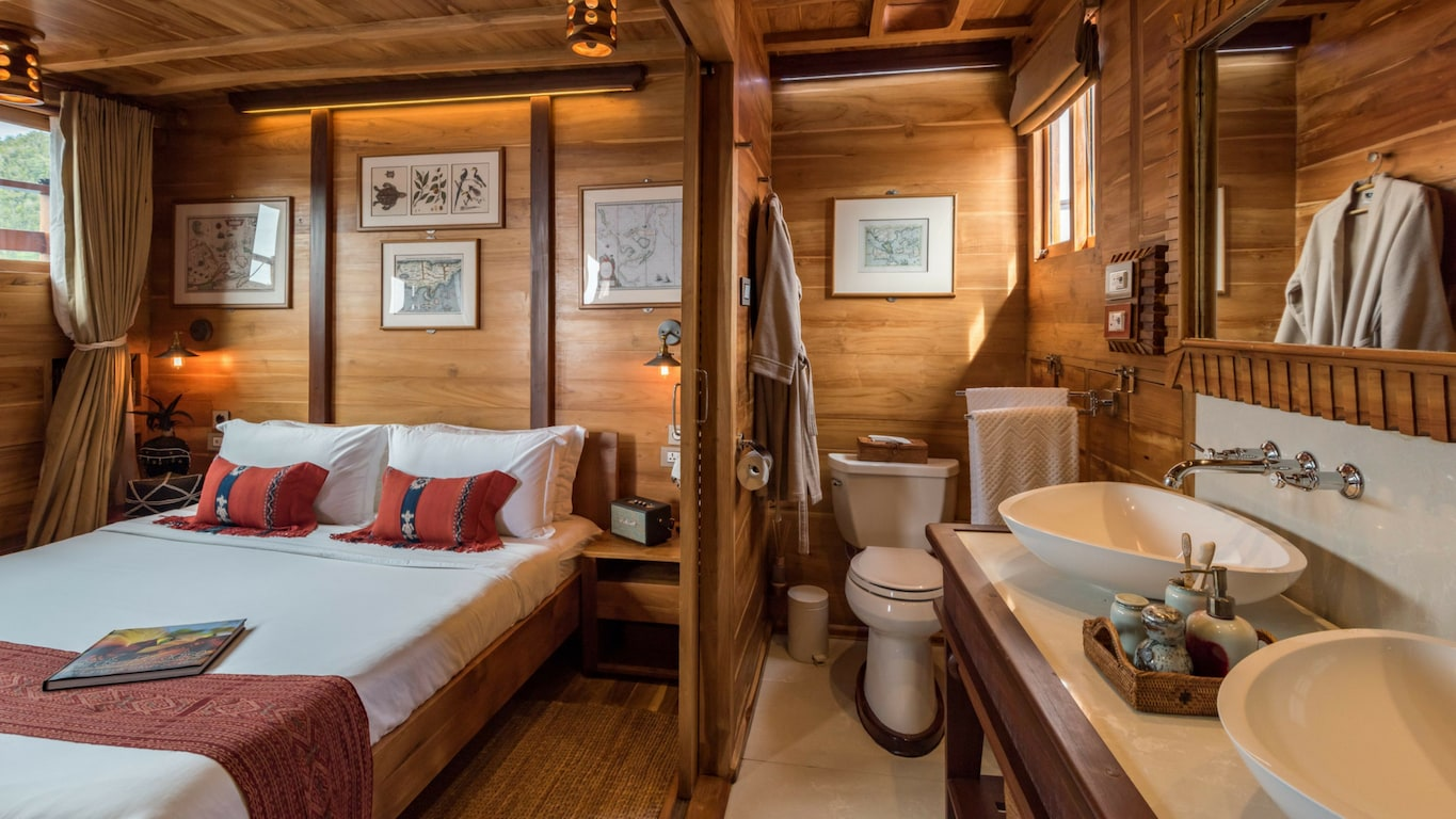 Suites aboard the Sequoia