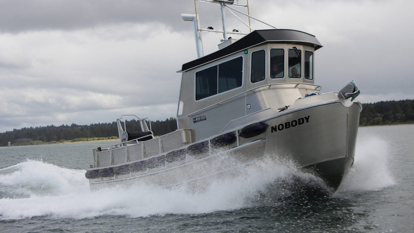 Bristol Bay fishing boat by North River Boats