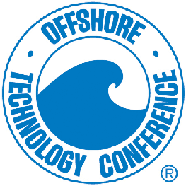 "OTC logo that says ""Offshore Technology Conference"""