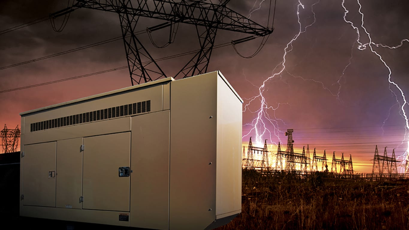 Reliable generator power