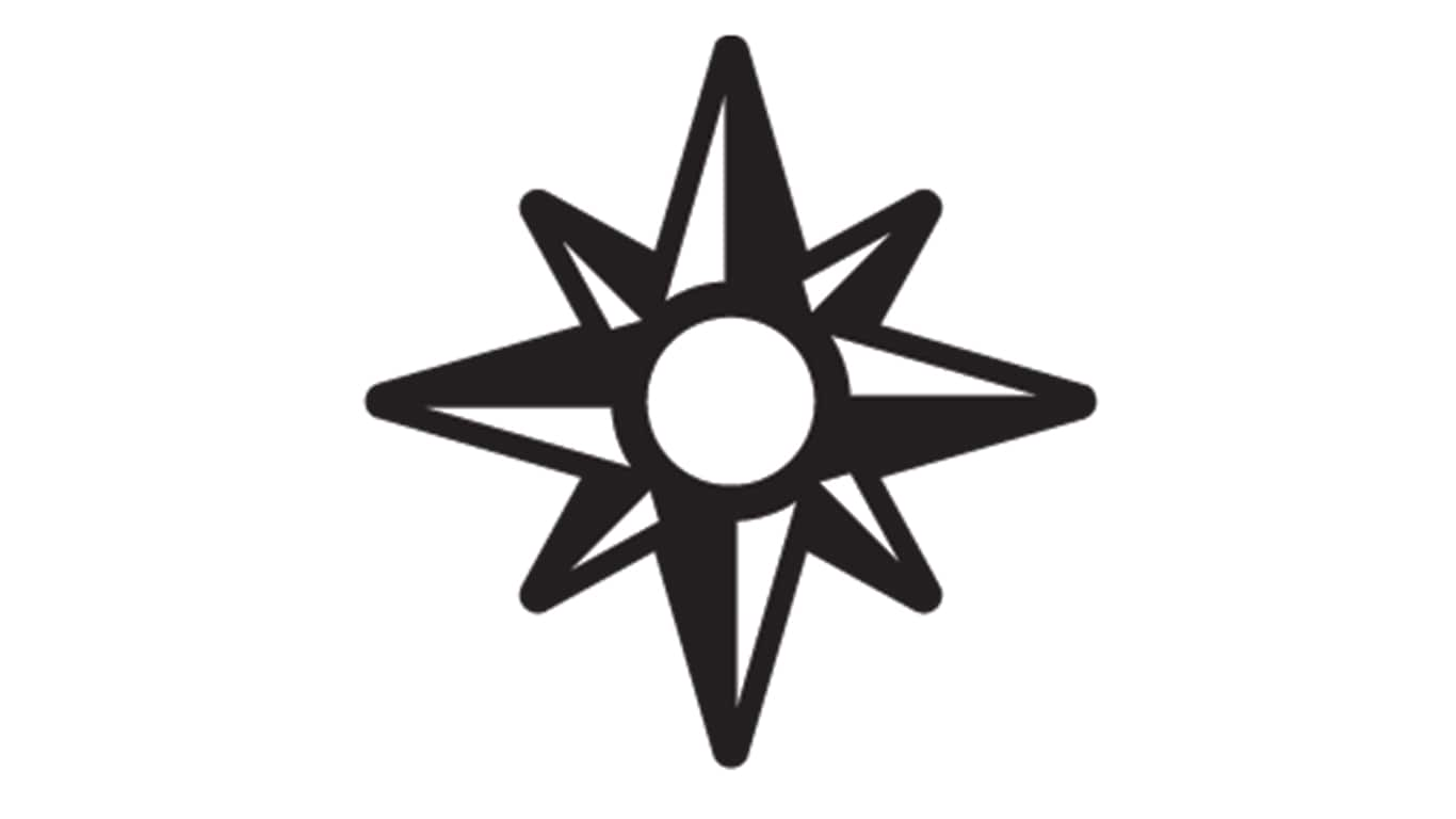 TimberMatic Maps compass icon