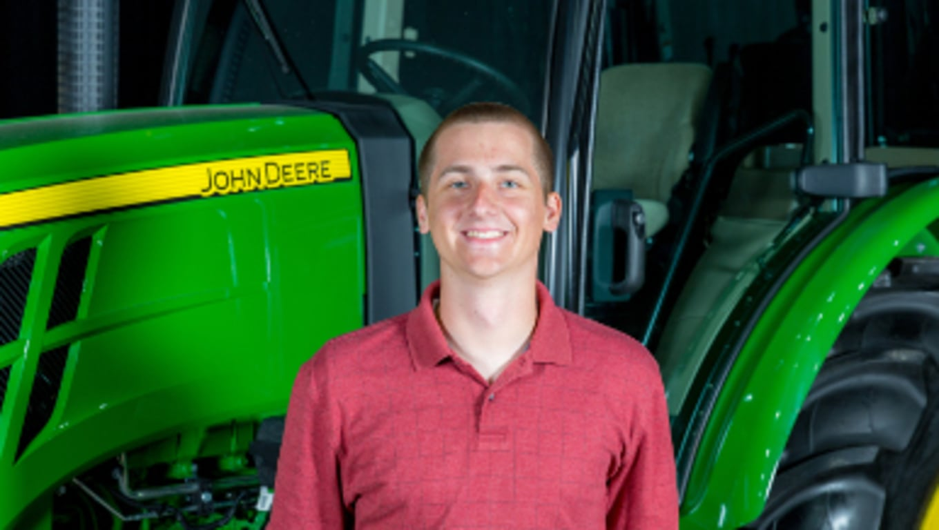 Keith, stagiaire John Deere