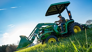 John Deere Redesigns 3E Series Compact Utility Tractors