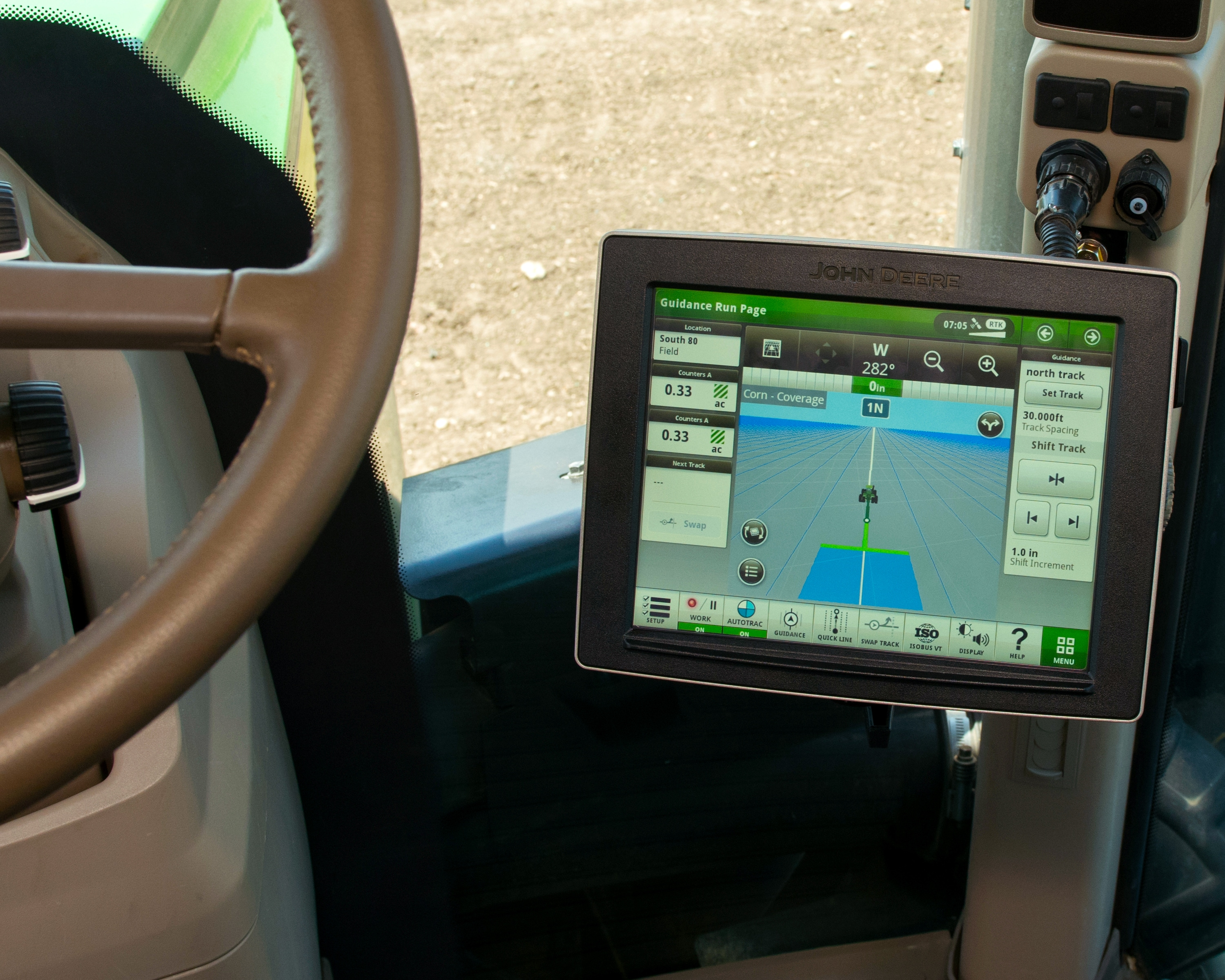 New John Deere 4640 Universal Displays offer better data collection and increased functionality.