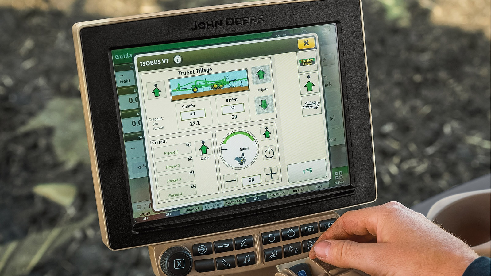 John Deere is offering TruSet depth and pressure control and mapping functions on more new and late model tillage tools for 2018.