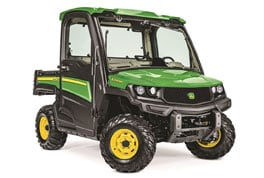Studio shot of the newest Gator XUV model