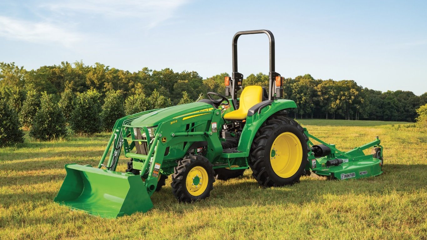 3D Series Compact Utility Tractor