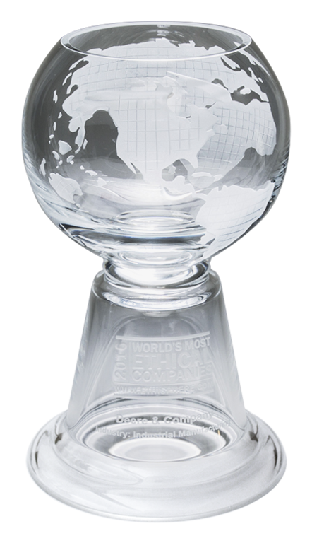 social responsibility trophy