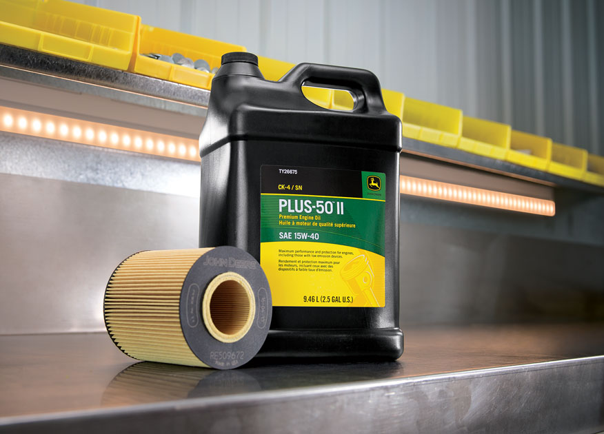 John Deere Plus-50 II Oil and Filter
