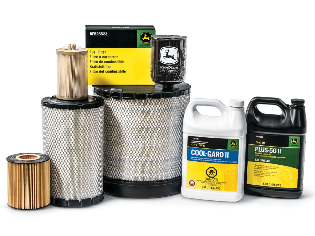 Oil, coolant and filters