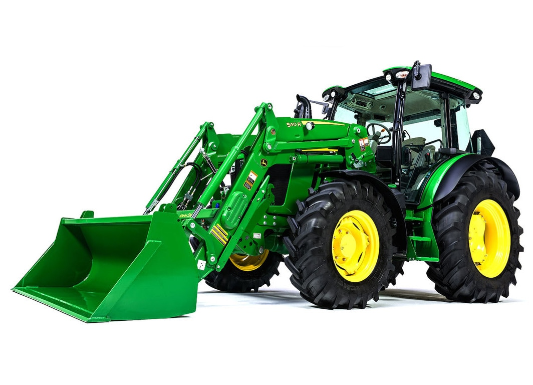 Front End Loader for a Tractor
