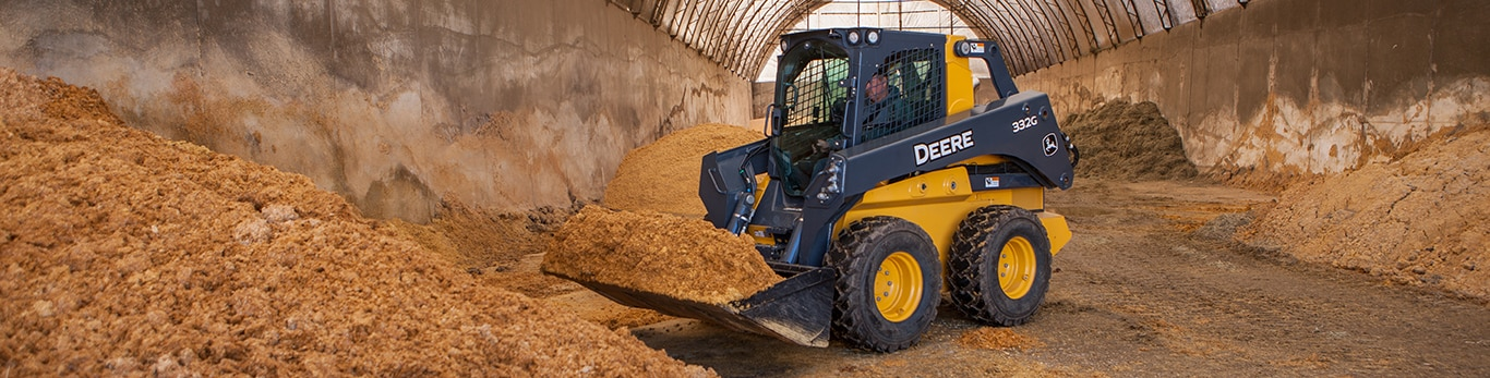 skid steer on a jobsite