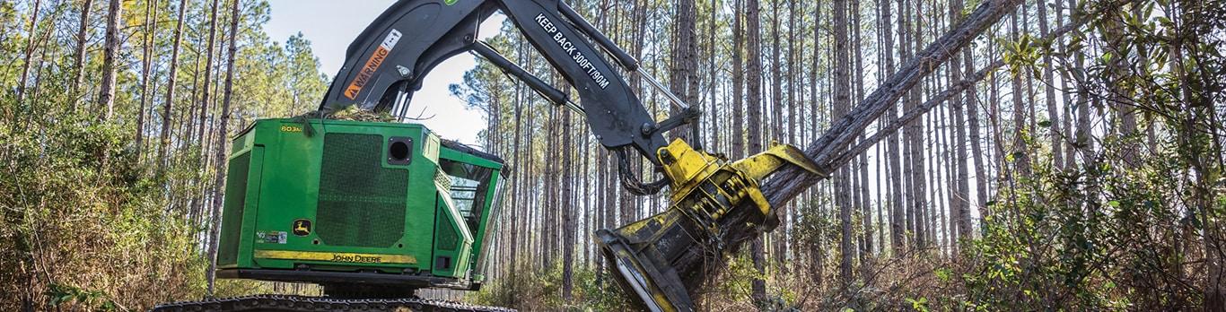Forestry Equipment   John Deere CA