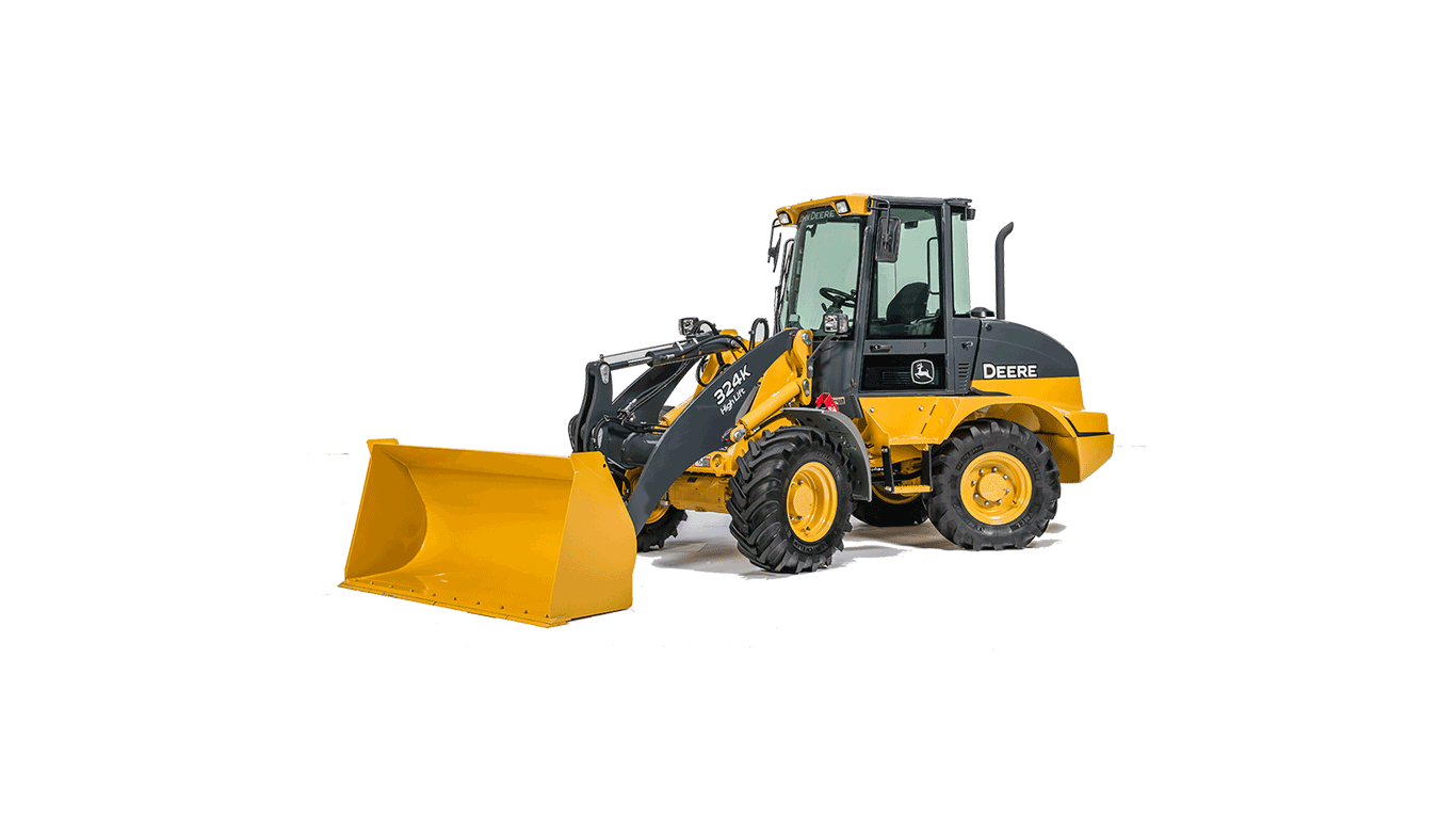 324K | Wheel Loader | John Deere CA