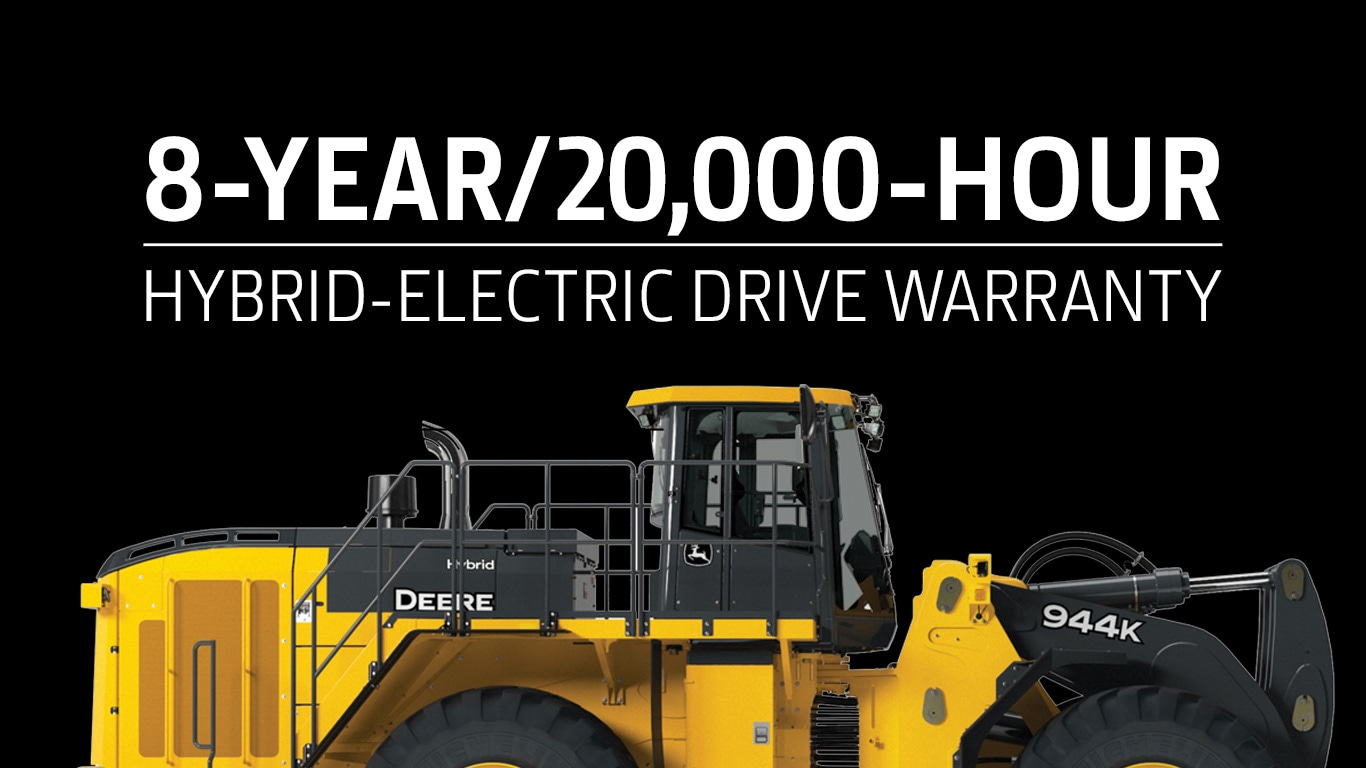 8-year 20,000-hour hybrid electric drive warranty
