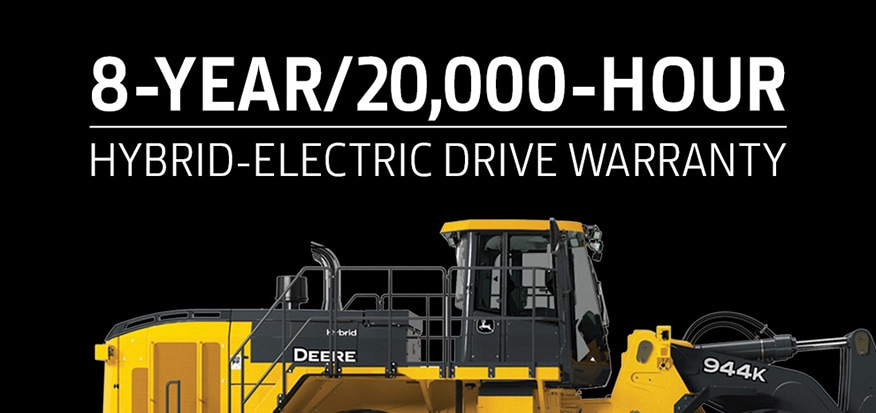 8-year 20,000 hour hybrid-electric drive warranty