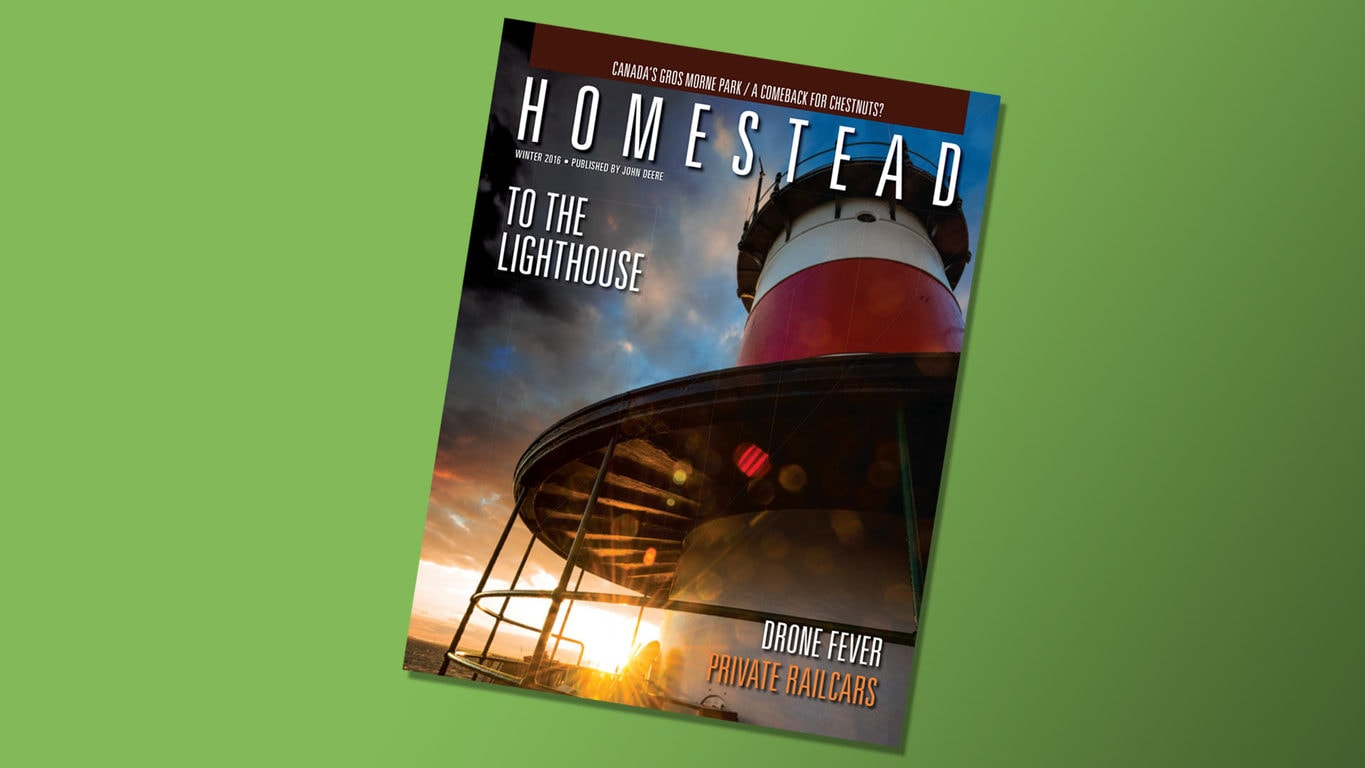 front cover of Homestead Magazine