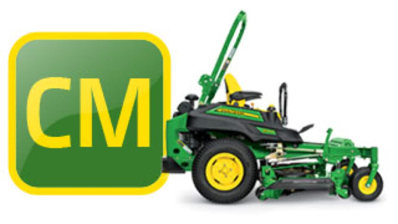 commercial mowing chart logo
