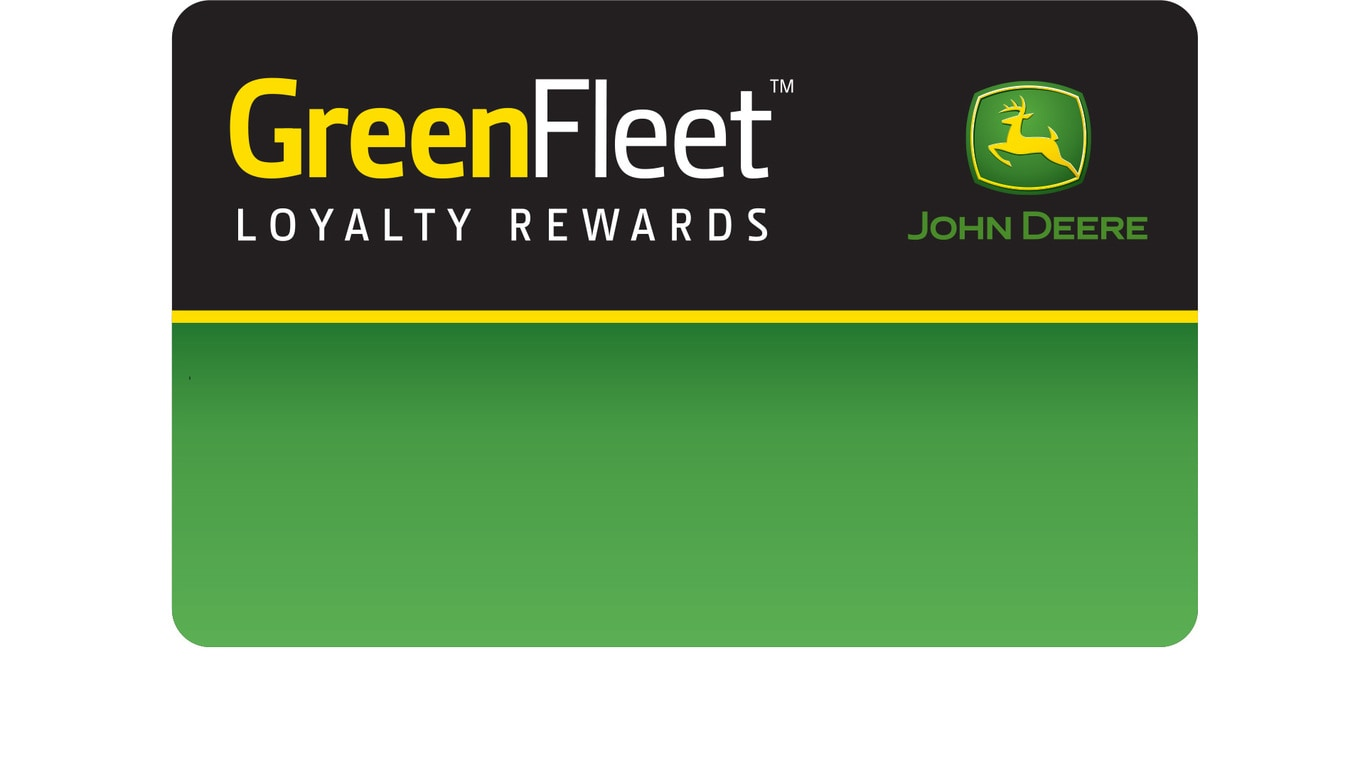 Green Fleet Rewards Card