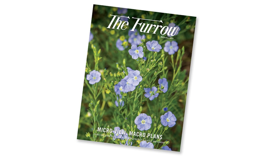 front cover of Furrow Magazine