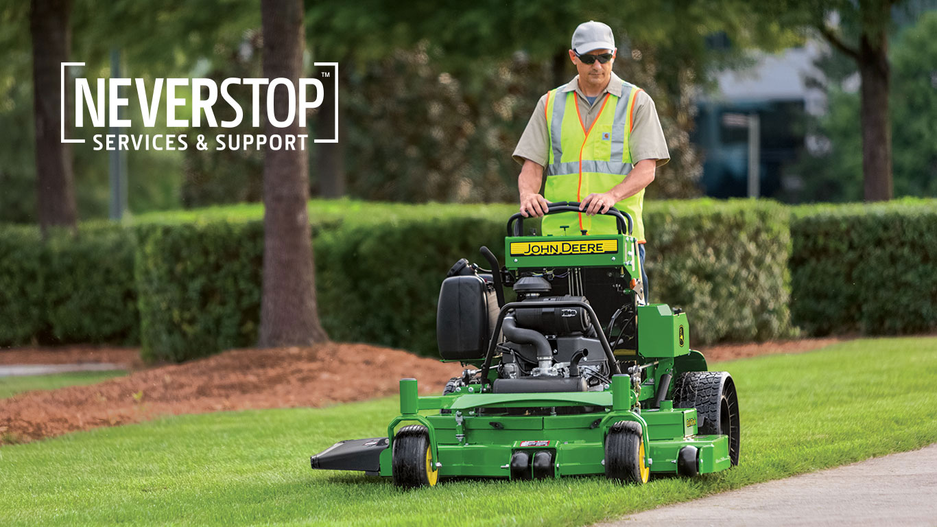 John Deere Commercial Lawn Mowers and NEVERSTOP™ Services and Support