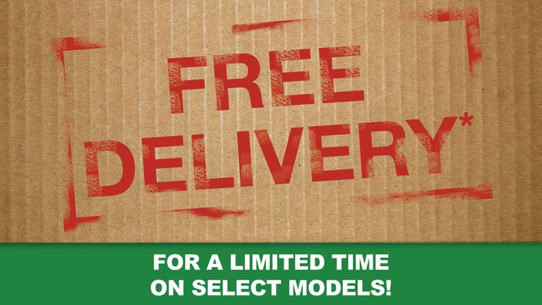 Free Delivery When You Buy Online†