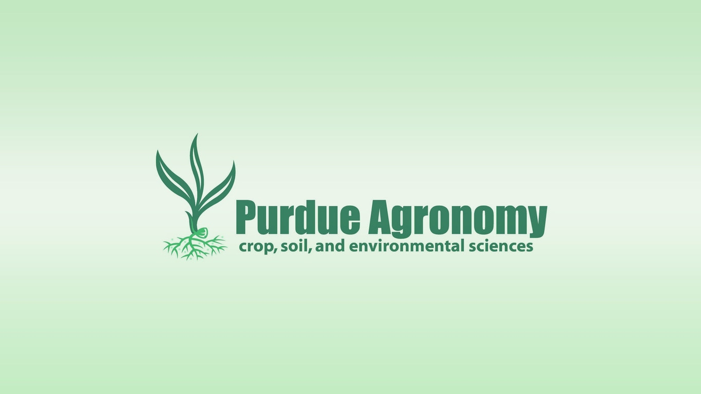 Purdue Agronomy log