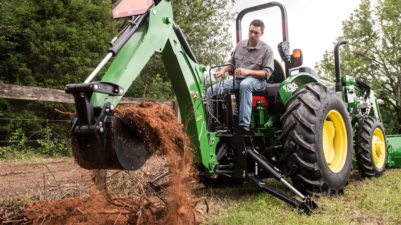 Backhoes for Compact & Utility Tractors