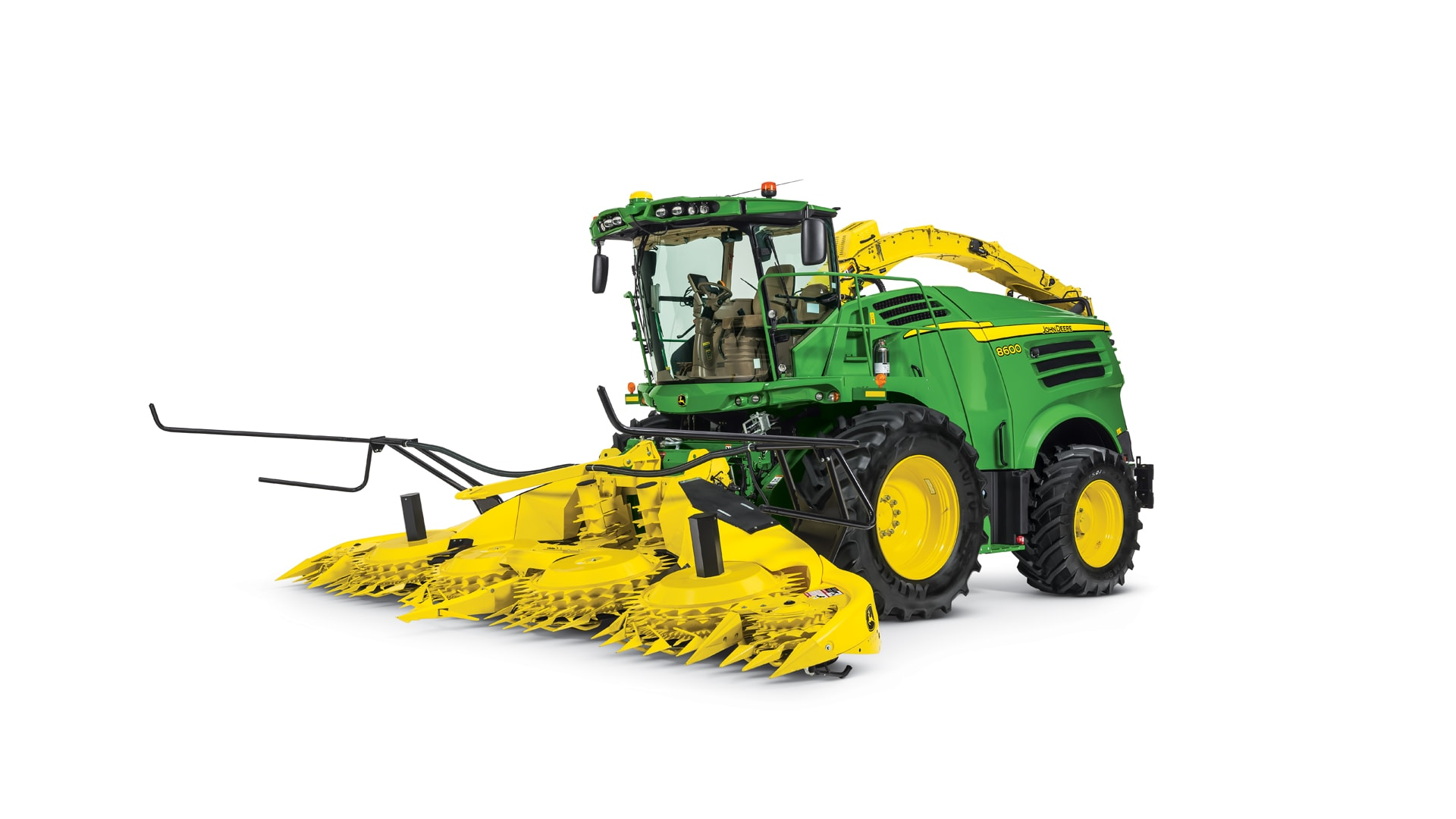 Self-Propelled Forage Harvester Photo - Studio